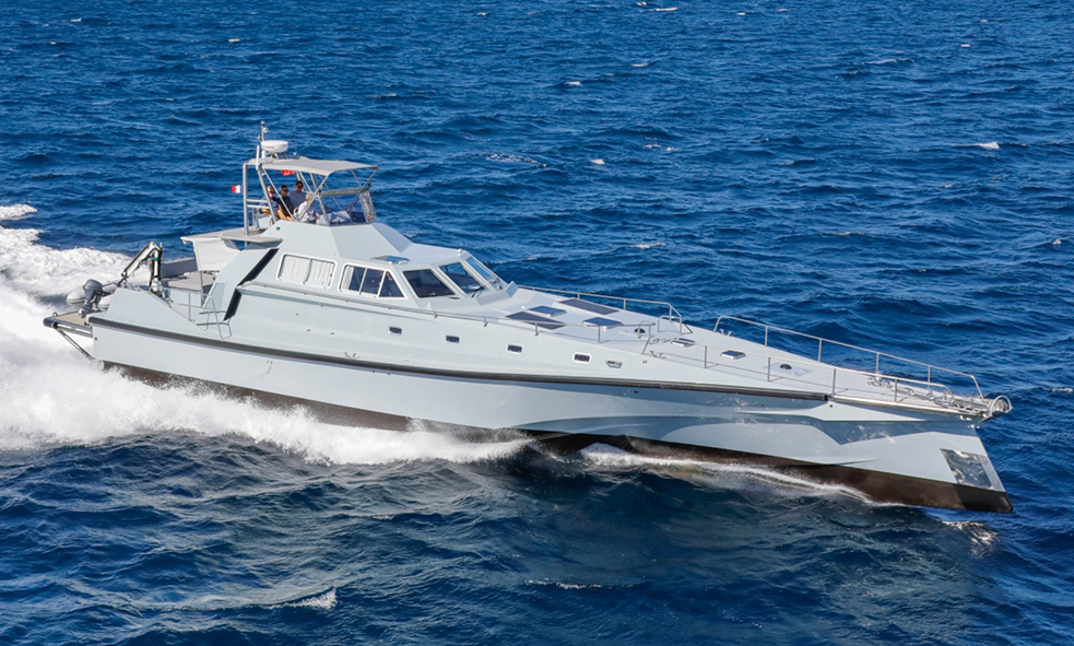 motor yacht ENMER from Safehaven Marine joins Fraser sales fleet