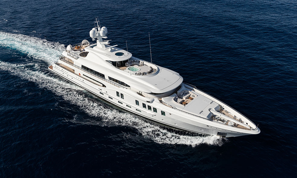 Amels 220 Limited Edition M/Y AURORA BOREALIS Sold by Fraser