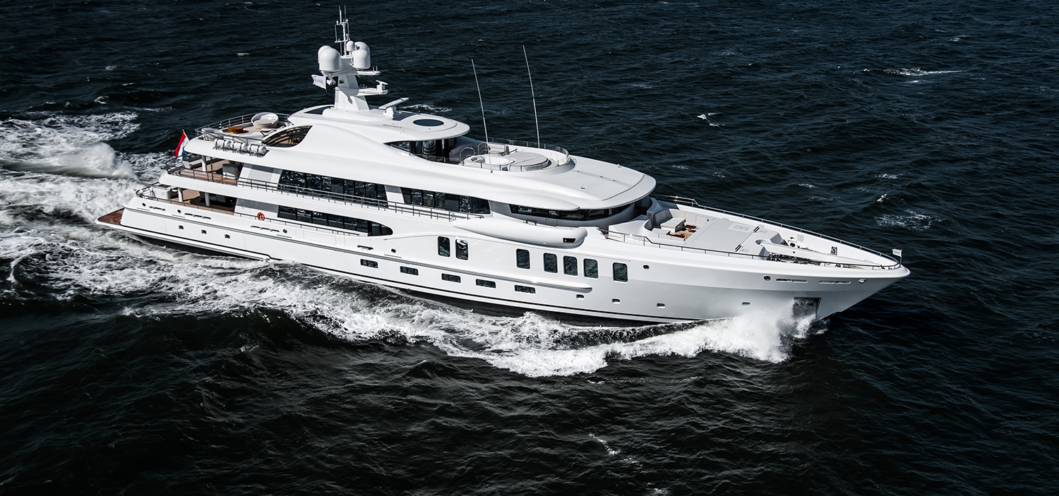 Amels Yachts for Sale | Dutch Pedigree Yachts | Fraser