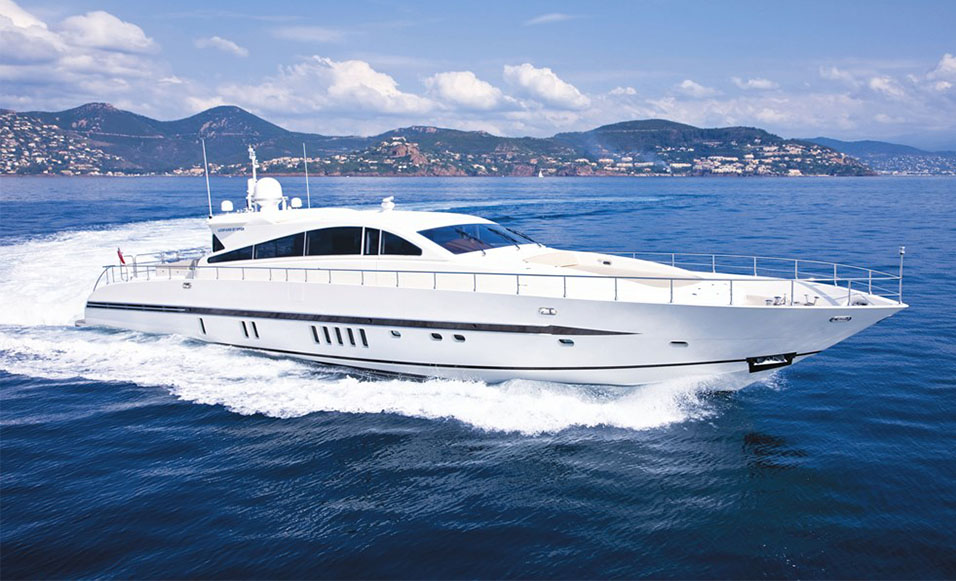 27M Arno Yacht CARAMIA sold by Fraser