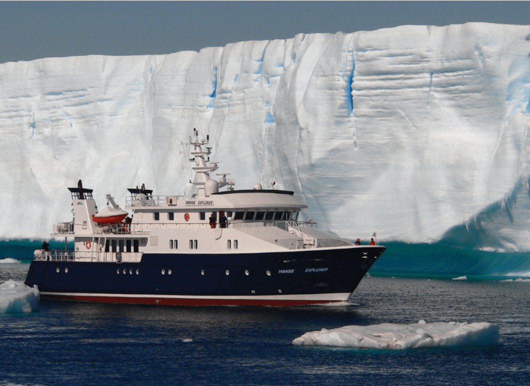 Journeying to the Polar Regions on board the Hanse Explorer