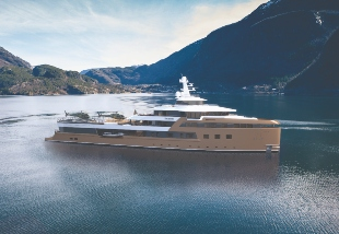 74m superyacht Amels with Fraser Yachts