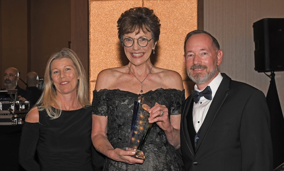 IYBA's Charter Professional of the Year Diane Fraser