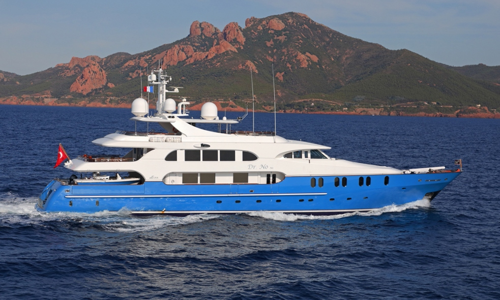 motor yacht Dr NO NO built by CRN Ancona Joins the Fraser Charter Fleet