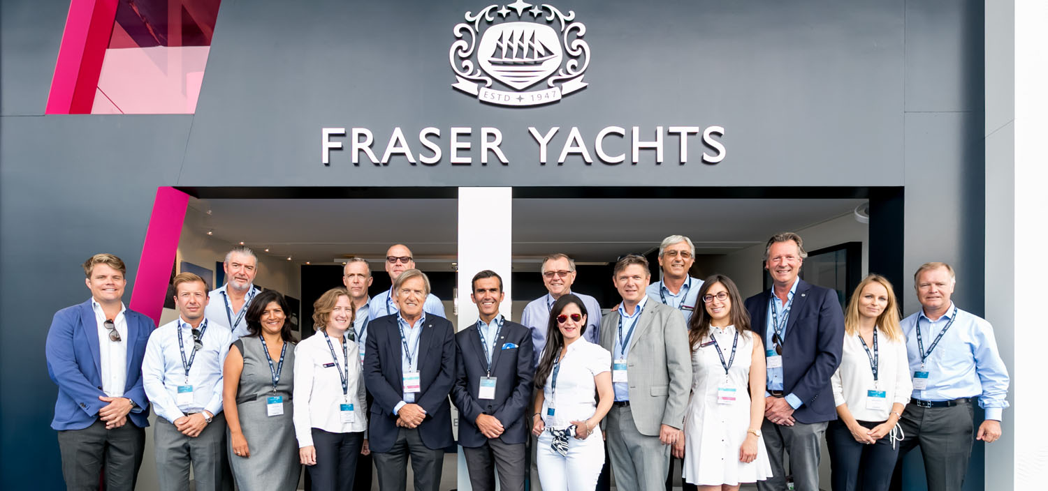 Join the team of Fraser Yachts