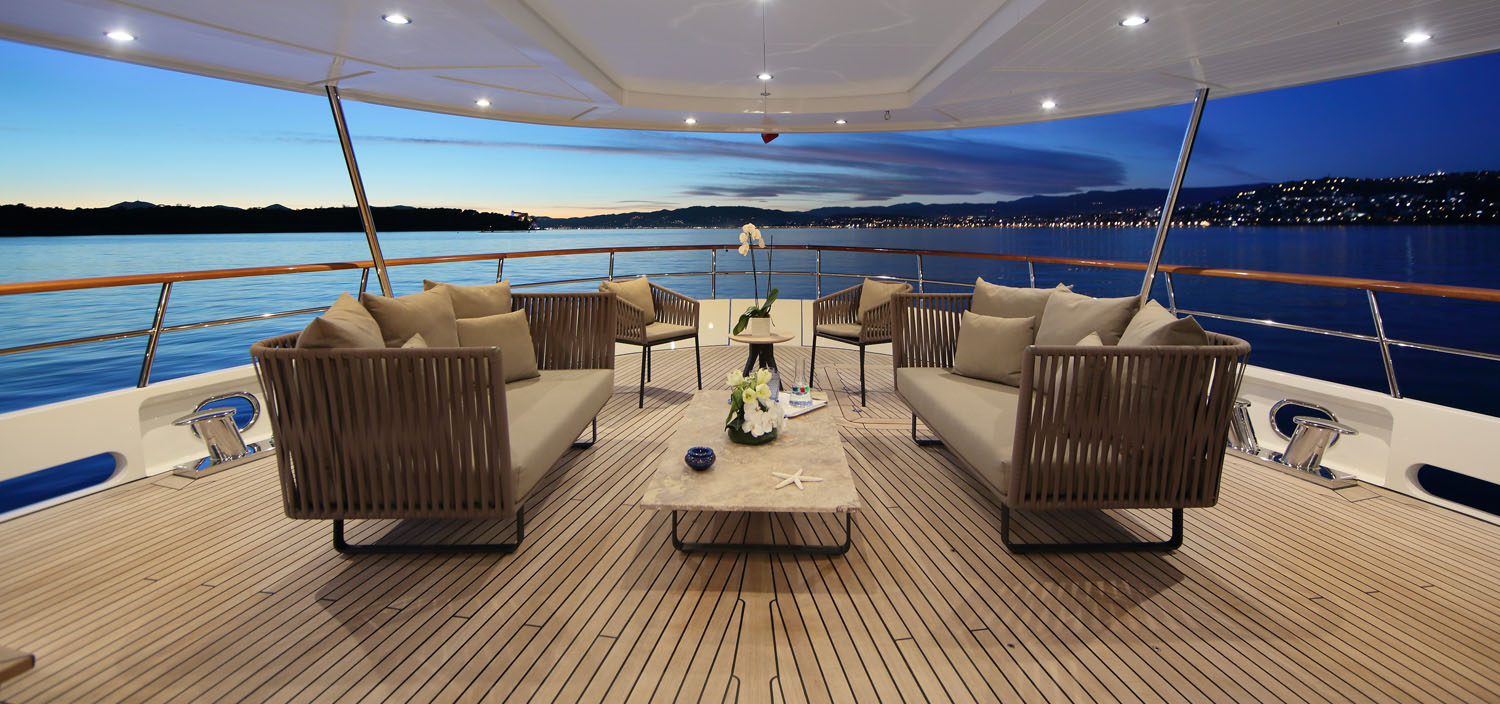 Invest in a designer yacht for sale with Fraser