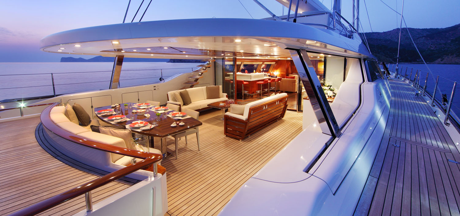 Experience the difference of a Dubois Naval Architects yacht for sale