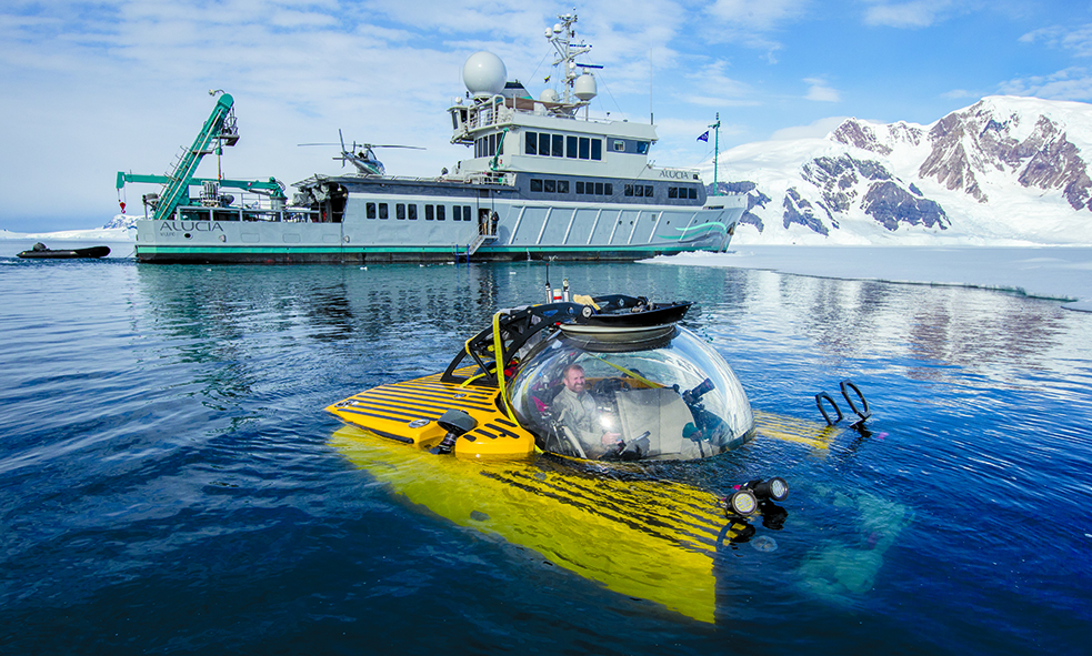 OCEANXPLORER From Mark Dalio and OCEANX in Antartica