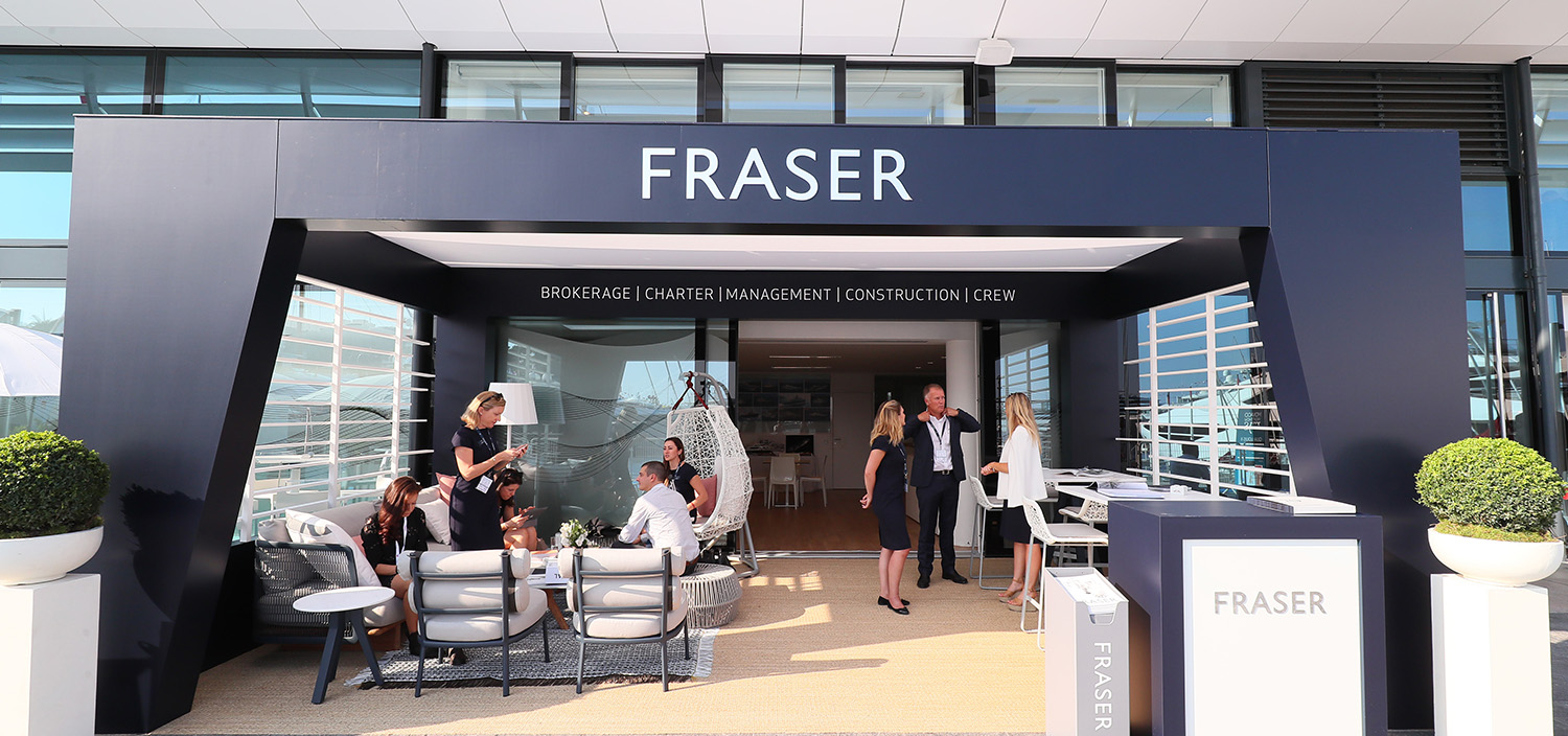 Great career opportunities with Fraser Yachts