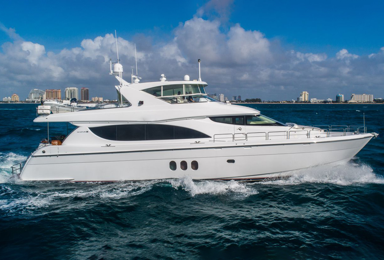 Hatteras - yacht for sale