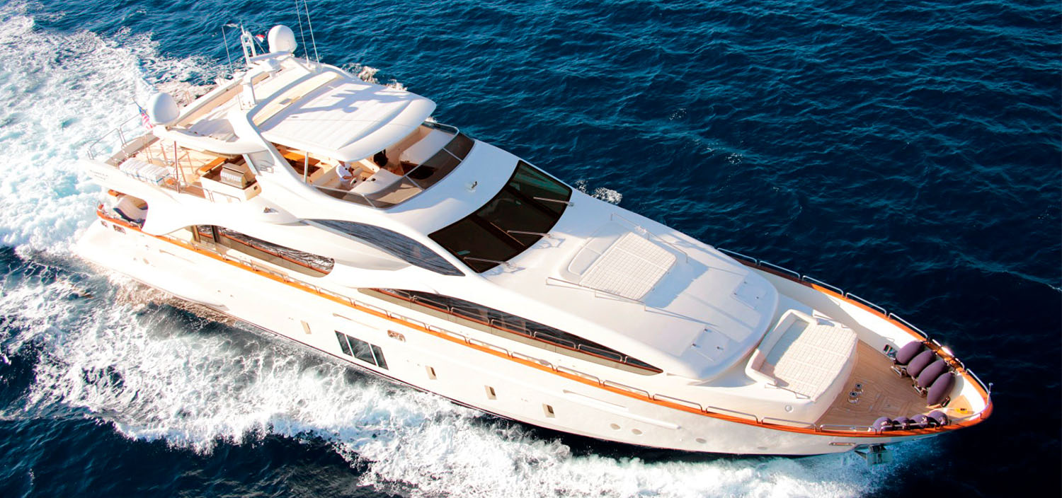 Featured motor yacht with Fraser