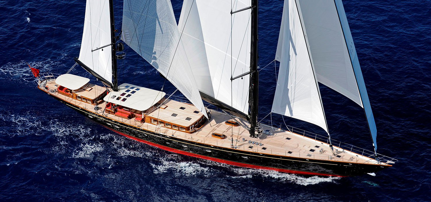 Featured sailing yacht with Fraser