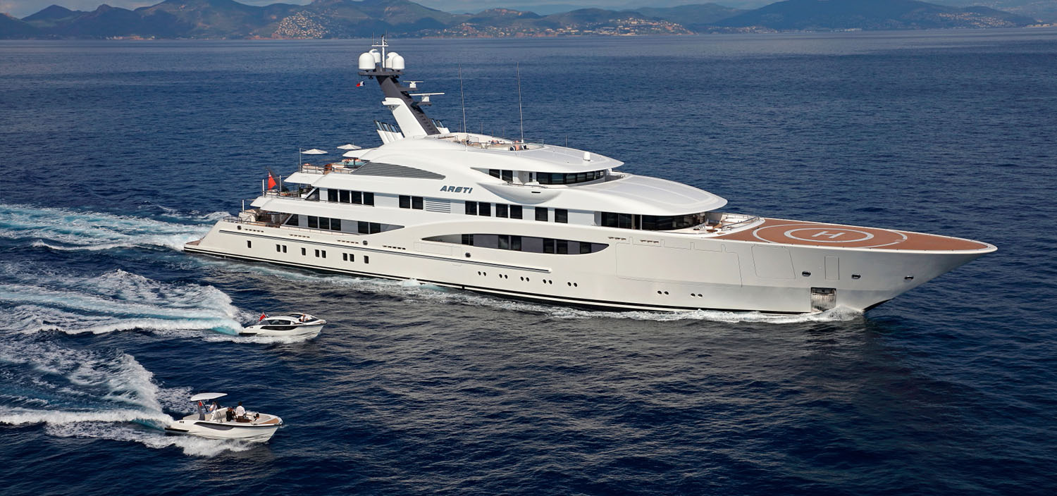 Areti Motor Yacht at the Monaco Yacht Show