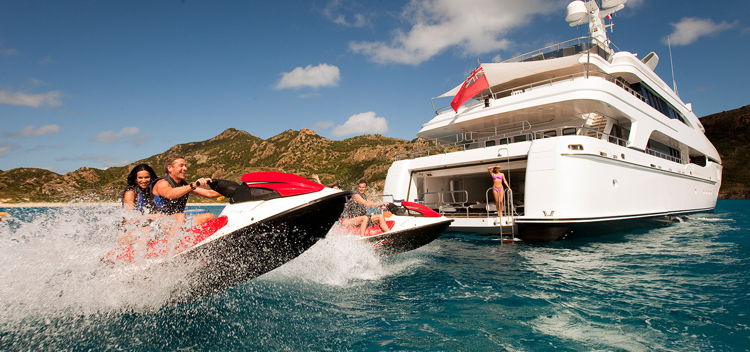 Let Fraser introduce you to the world of private yacht charter
