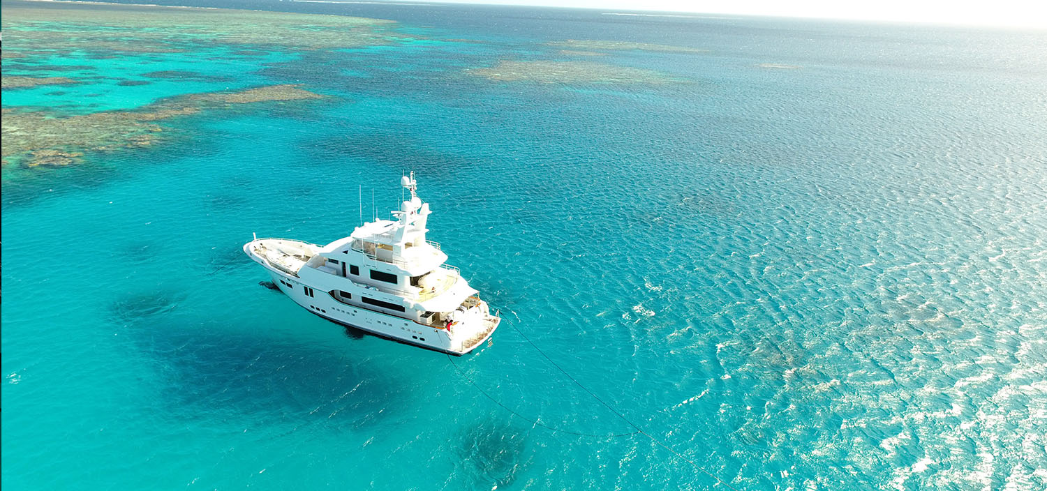 Cruise to paradise. Arrange a motor yacht charter with Fraser.