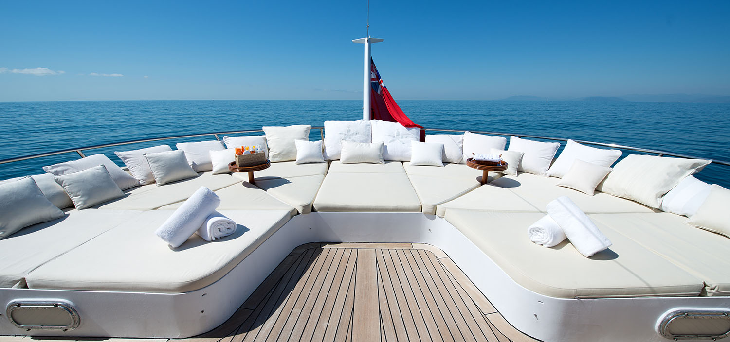 yacht charter with Fraser