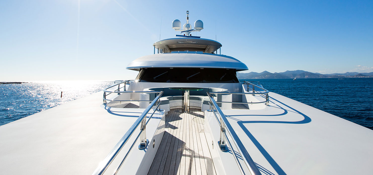 Cruise in bliss on a charter superyacht with Fraser