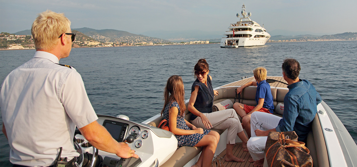 Cruise in comfort with quality charter crew. Cruise with Fraser.