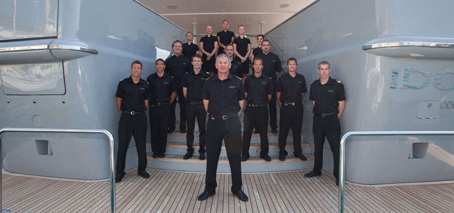 Fraser provides superyacht jobs and super crews