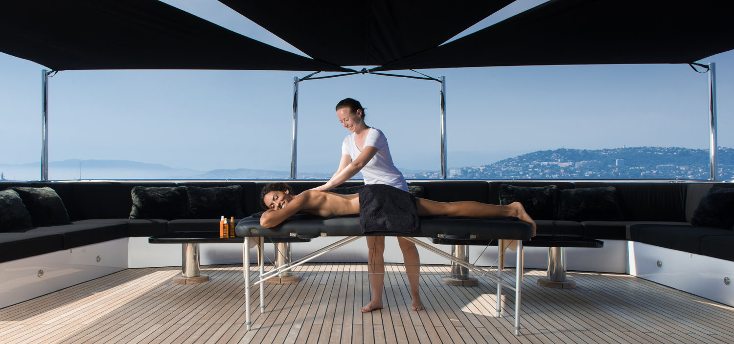 Relax under the exceptional treatment of Fraser superyacht crew