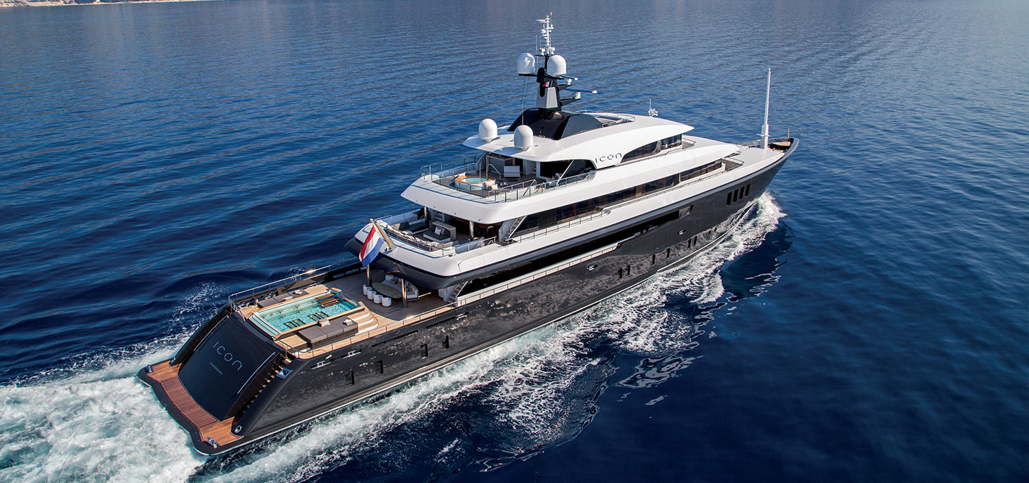 A luxury motor yacht exploring the seas with Fraser