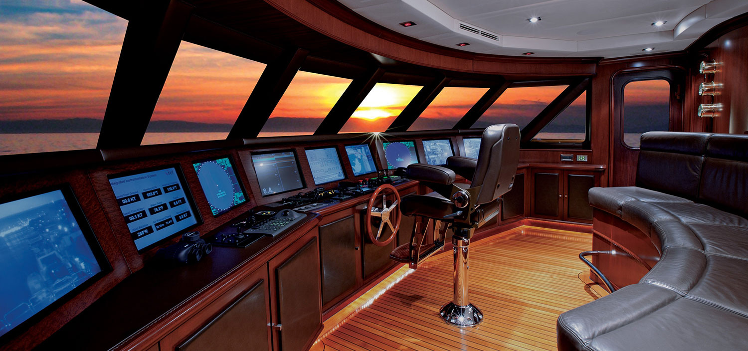 Admire the view with a quality yacht management company