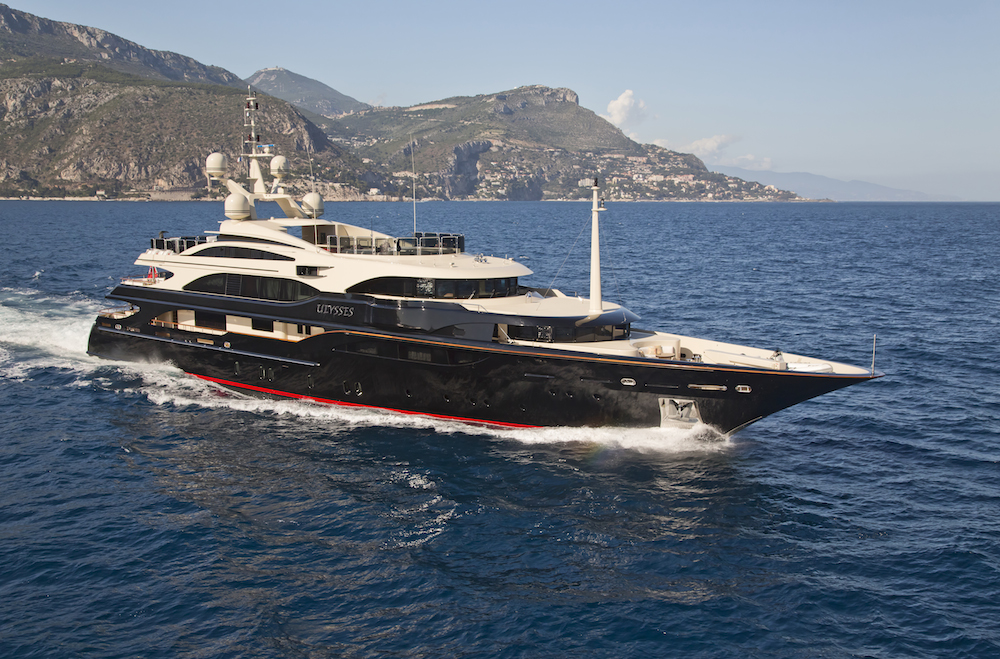 ULYSSES yacht for charter