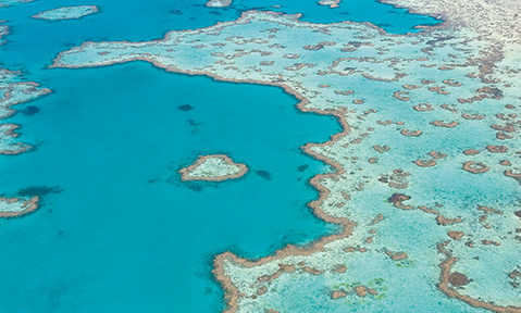 Fraser offers Whitsunday Islands yacht charters, spanning 74 islands
