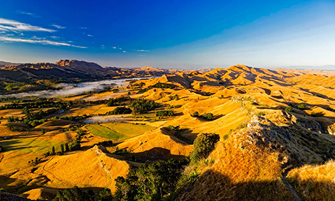 The scenery on a New Zealand yacht charter is wild and diverse