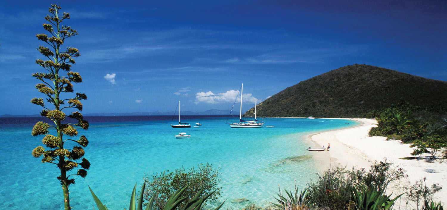 Sail calm bays on a BVI yacht charter with luxury boat for charter with Fraser