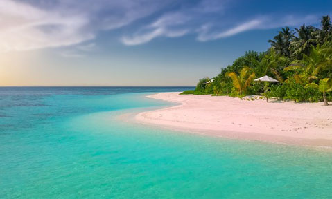 A Bahamas yacht charter takes you to palm-fringed sandy beaches