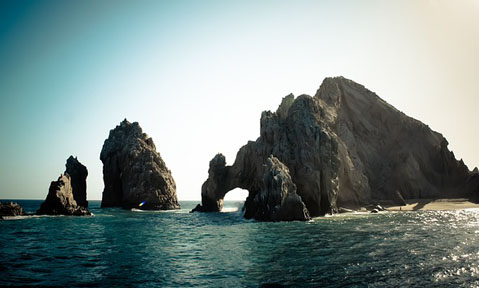 Sea of Cortez yacht charter with rocky outposts