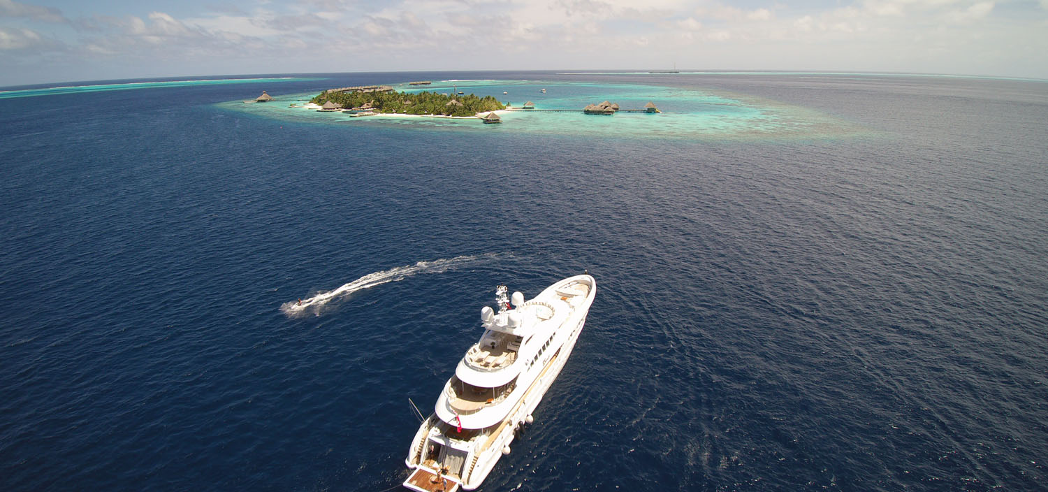 Take a Fraser Maldives yacht charter with toys and tenders