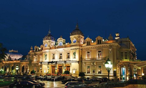 The Casino of Monaco is a historical landmark best seen fom a Monaco superyacht charter