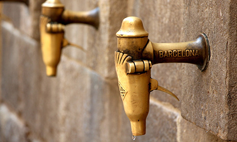 Ancient Spanish architecture and design can be appreciated on a Barcelona yacht charter