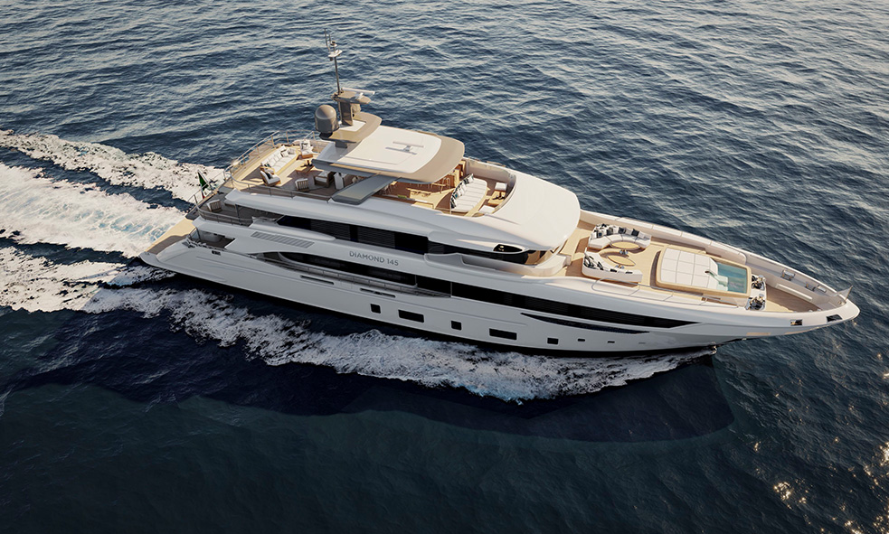 44m M/Y BENETTI DIAMOND 145 BP002 Sold by Fraser