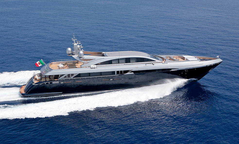 49.9m M/Y FRAMURA 3 From Codecasa Joins Fraser Sales Fleet