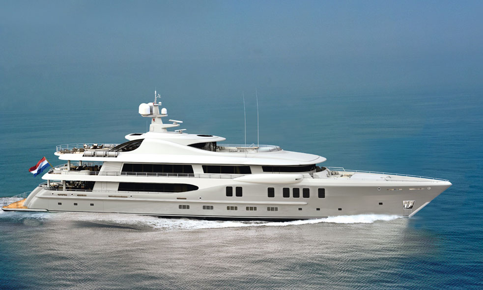 Fraser Yachts Sells 67m New Construction Project from Amels