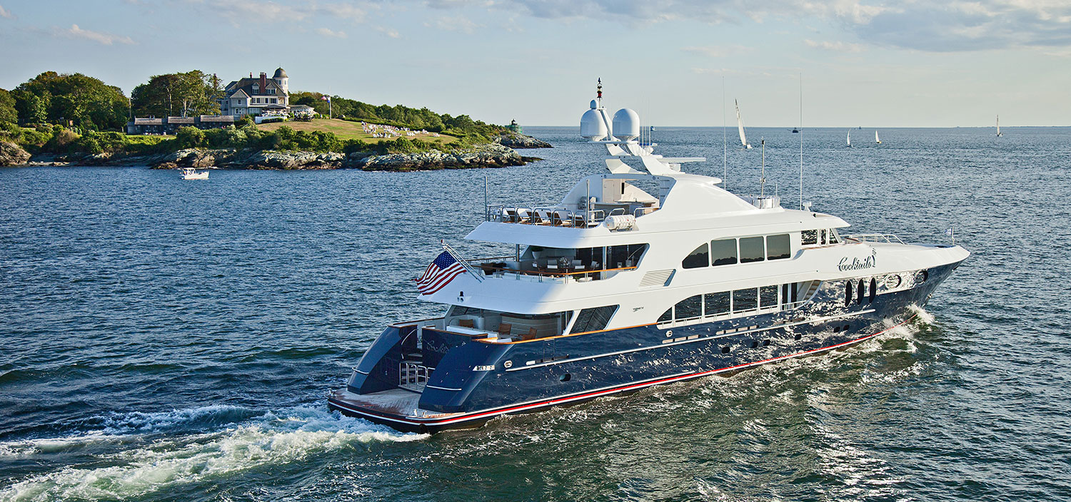 Trinity super yacht for sale with Fraser