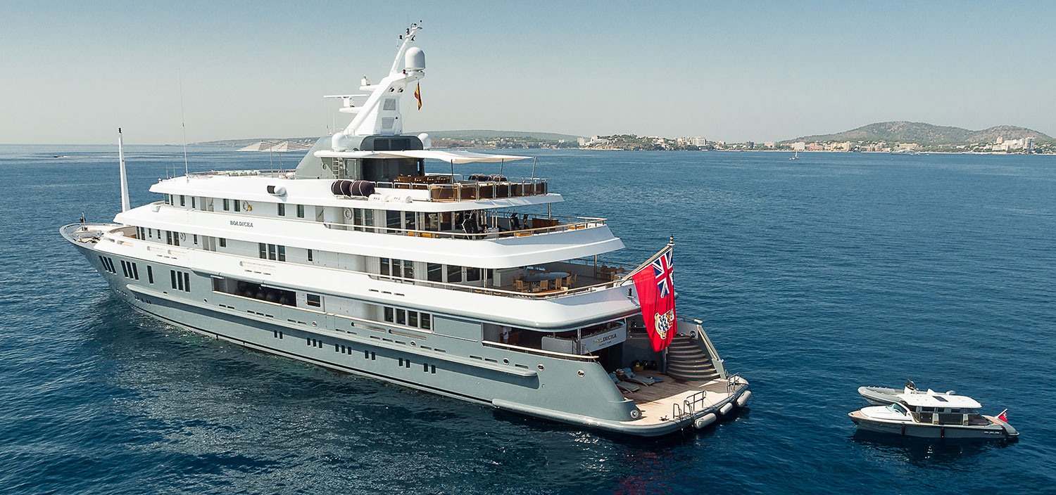 Boadicea is a one-of-a-kind super yacht designed by Amels Yachts