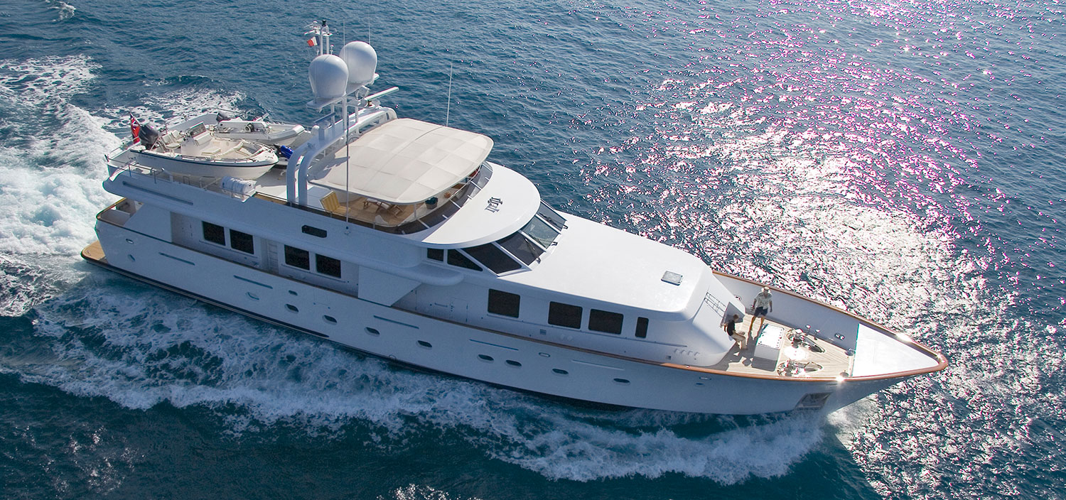 The finest Christensen Yachts for sale with Fraser