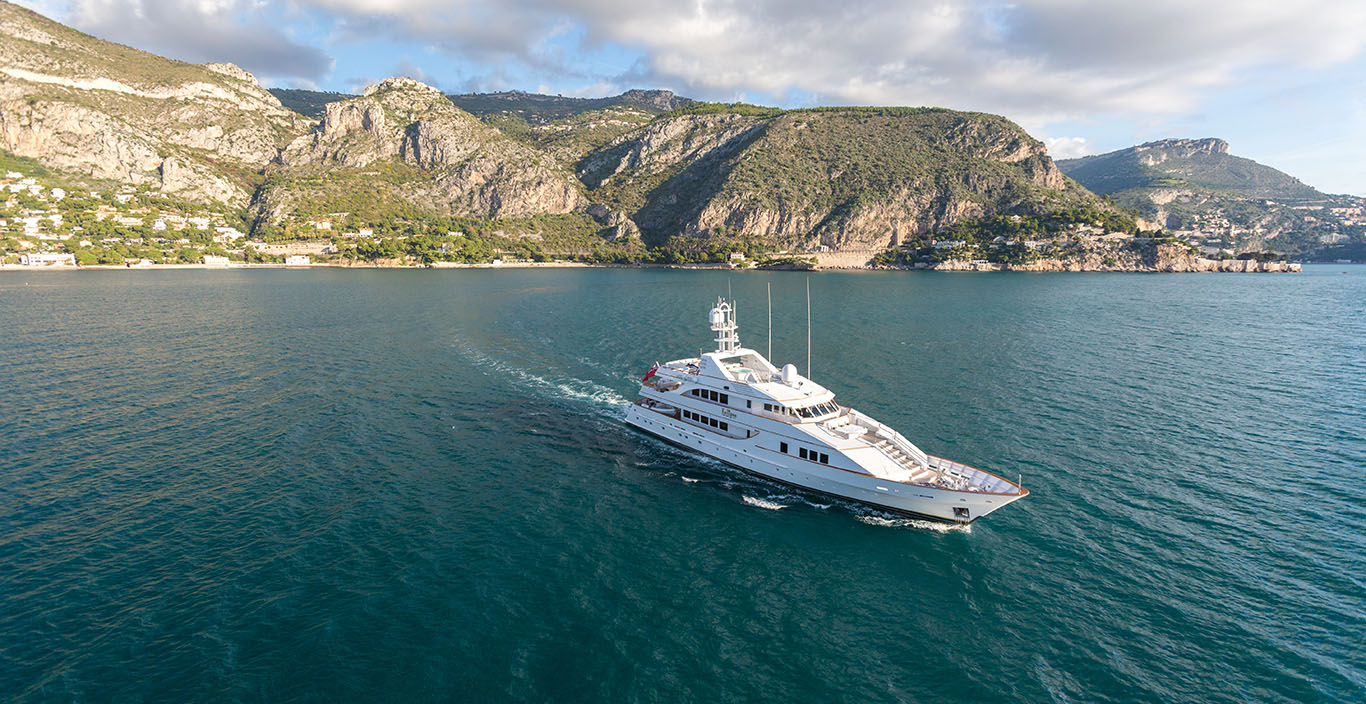 Eclipse is a luxury Feadship yacht for sale with Fraser Yachts