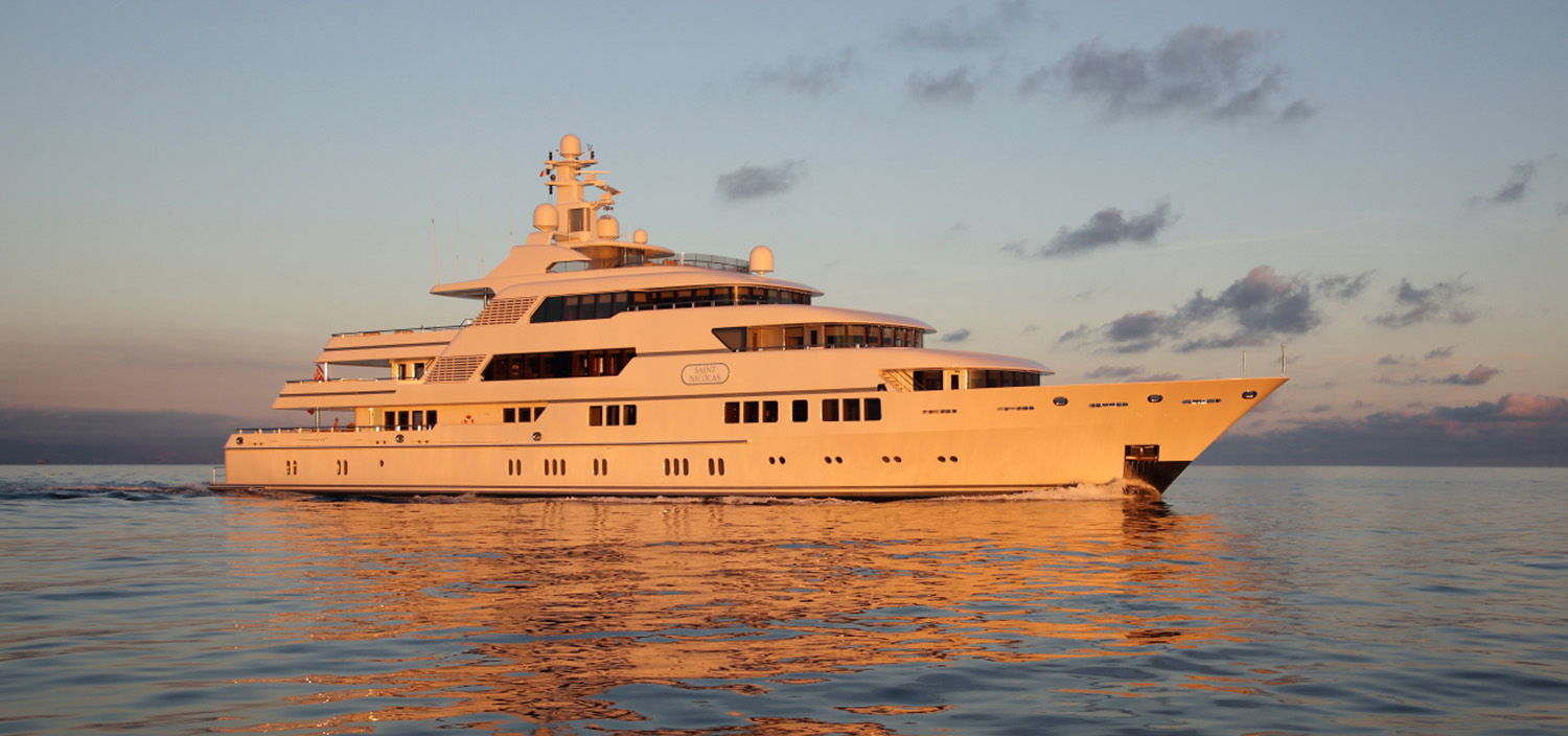 Ester III is a luxury superyacht built by Lurssen Yachts and sold by Fraser
