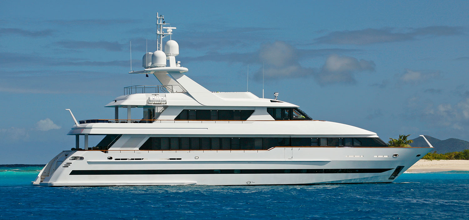 Rule the waves on Victoria del Mar, a luxury Delta Marine yacht for sale