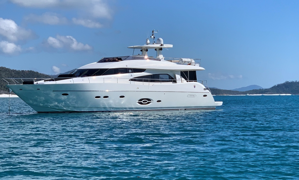 Motor Yacht SOPHIA From Royal Denship is Available for Charter with Fraser
