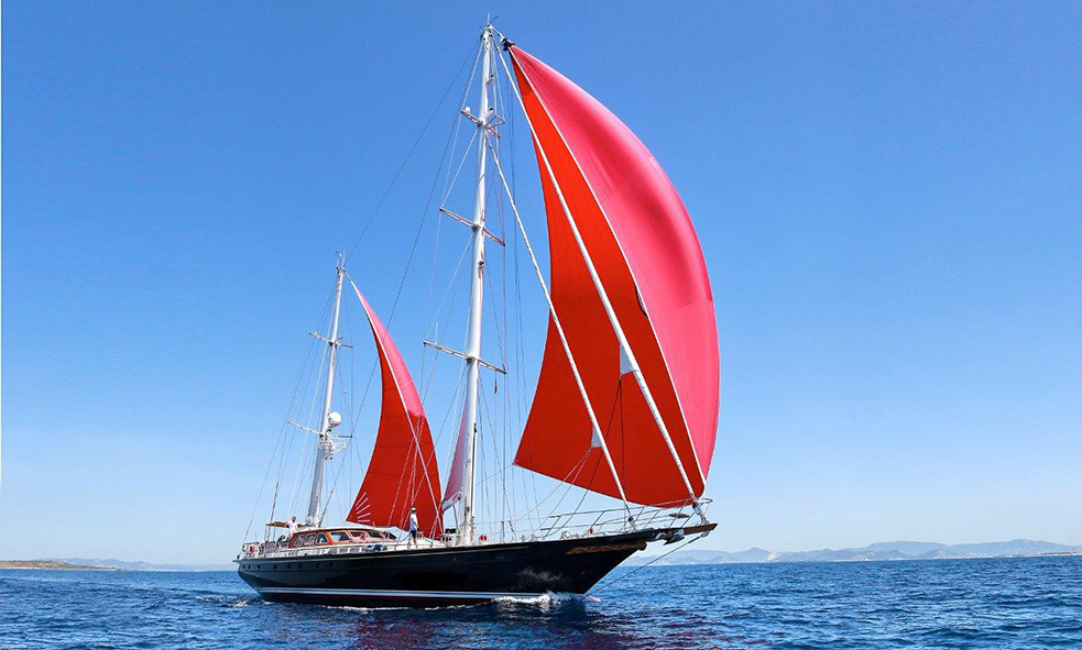 31.1m S/Y ANAMCARA Joins the Fraser Sales Fleet