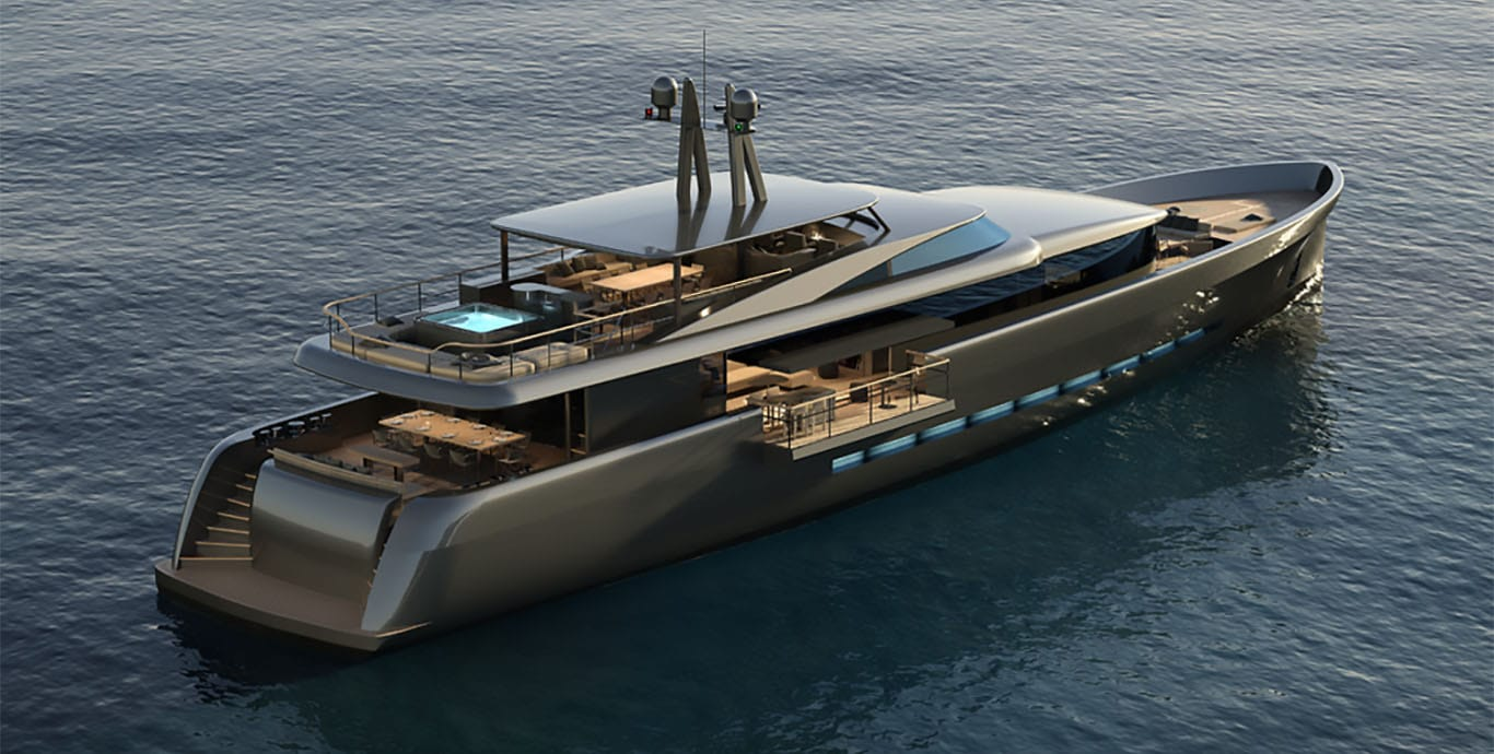 Cnb frers 43m motor yacht yacht fraser for Luxury motor yachts for sale