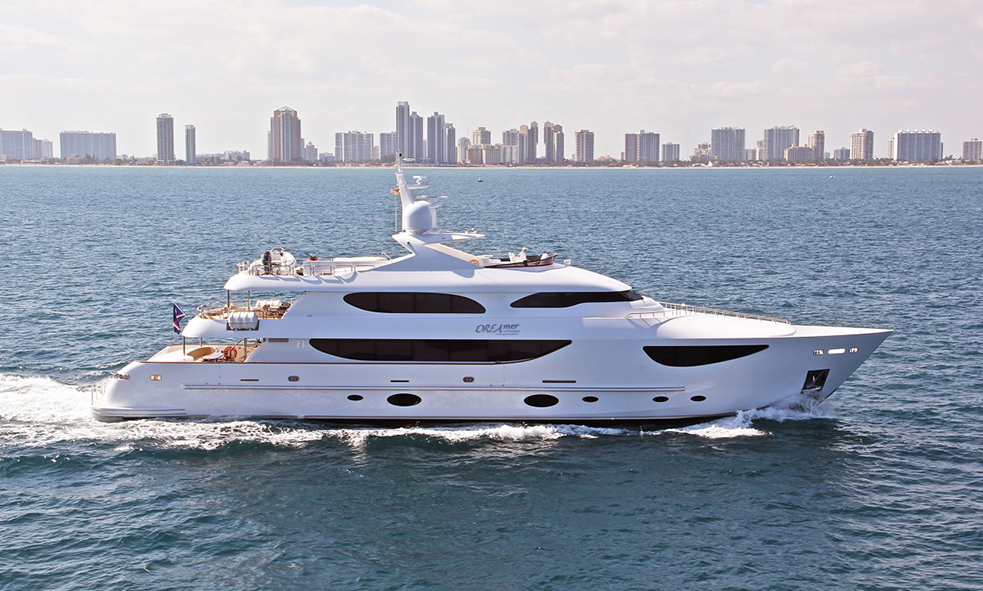 Motor Yacht DREAMER From Hargrave Sold by Fraser