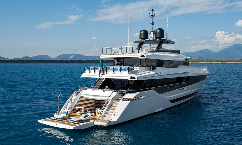 43m Mangusta Oceano M/Y EVA.4EVA Available for Charter with Fraser