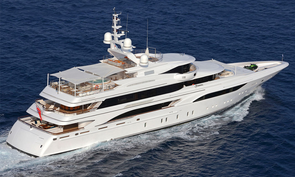 60M M/Y FORMOSA From Benetti Added to Fraser Sales Fleet